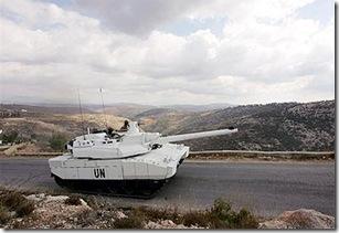 un tank south lebanon