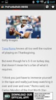 Screenshot of Cowboys Addicts News!