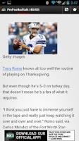 Screenshot of News - Dallas Football Addicts