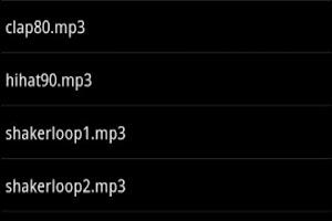 Screenshot of RAP.BEAT.PAD.DRUM.SAMPLE.BEST.