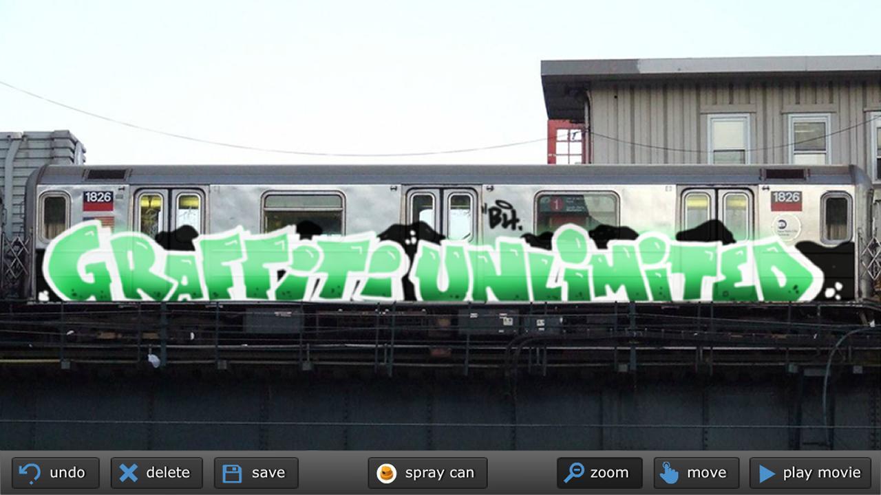 Graffiti unlimited pro screenshot 2