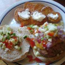 Turkey Burgers With Salsa