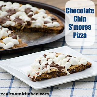 Chocolate Chip S'mores Pizza