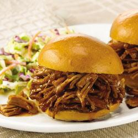 Slow Cooker BBQ Peach Pulled Pork