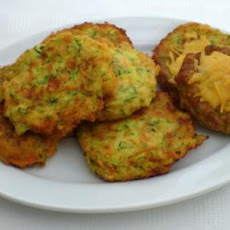 Zucchini Cheese Patties