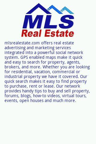 MLSREALESTATE.COM real estate