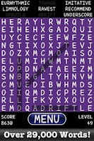 Screenshot of Word Find Free Jumble Boggle!