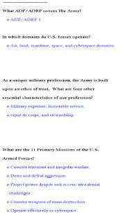 Us army adp study
