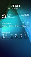 Screenshot of ZERO THEME GO WEATHER