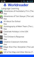 Screenshot of American English