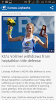 Screenshot of The Wichita Eagle & Kansas.com