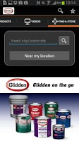 Screenshot of Glidden on the go™