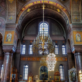 Uspenski Cathedral by Lasbi Naboj - Buildings & Architecture Architectural Detail ( chandelier, helsinki, finland, architectural detail, cathedral, architecture, uspenski cathedral )
