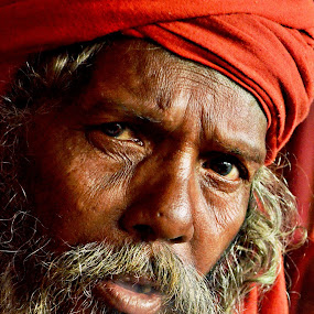 seaech in soul........ by Arnab Bhattacharyya - People Portraits of Men