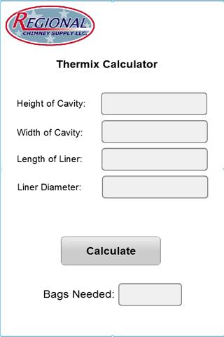 Thermix Calculator