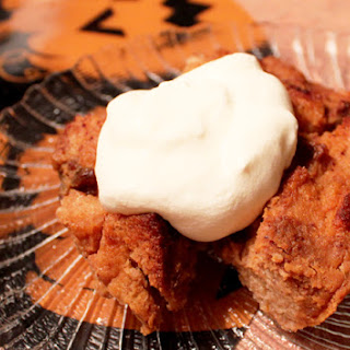 Easy Pumpkin Rum Bread Pudding