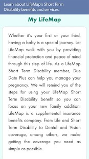 LifeMap Due Date Plus - screenshot