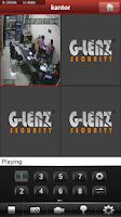 Screenshot of G-LENZ CLOUD