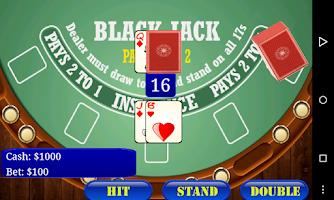 Screenshot of BlackJack 21 Free