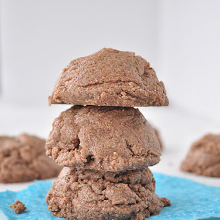 4 Ingredient Flourless Chocolate Cookies