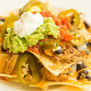 Ultimate Nachos with Beer-Braised Carnitas