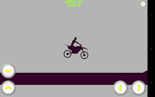 Screenshot of 2D Gravity Motorcycle