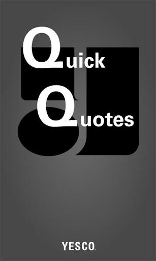YESCO Quick Quotes