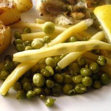 Minted Peas and Wax Beans