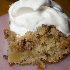 Good N Easy Cake with Homemade Whipped Cream