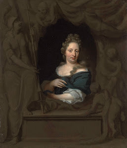 RIJKS: Michiel van Musscher: painting 1685