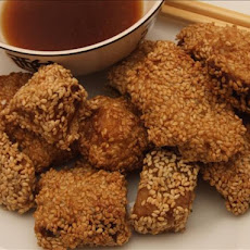 Sesame Crusted Fish