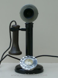Candlestick Phones - British Western Electric Candlestick $350 1