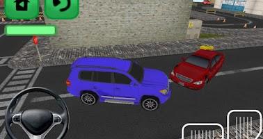 Screenshot of Mad Rush Speed Car Parking 3D