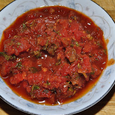 Roasted Pepper and Tomato Salsa