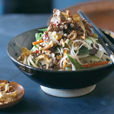 Vietnamese Beef and Rice Noodle Salad Recipe