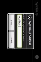Screenshot of FingerKBPad Remote Key Mouse