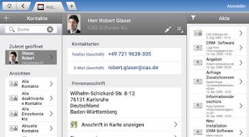 Screenshot of CAS PIA