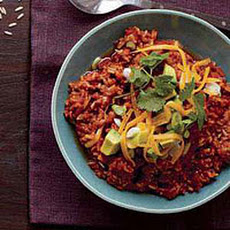 Tex-Mex Brown Rice Chili