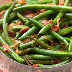 Green Beans with Smoked Bacon Recipe