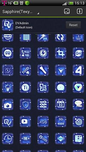 藍寶石好發射EX主題|玩個人化App免費|玩APPs