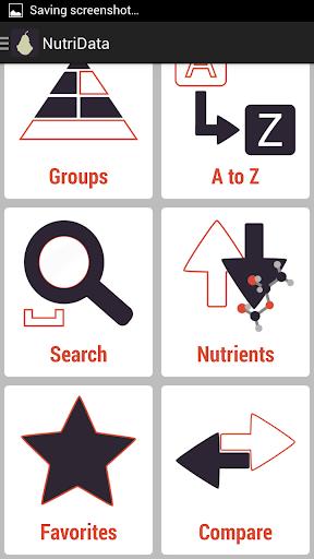 NutriData Nutrition & Calories - screenshot