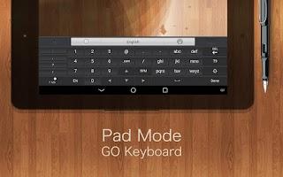 Screenshot of GO Keyboard Plugin- Tablet,Pad