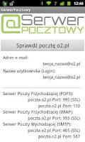Screenshot of SerwerPocztowy - Poczta e-mail