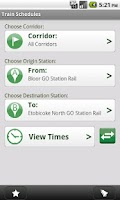Screenshot of GO Mobile