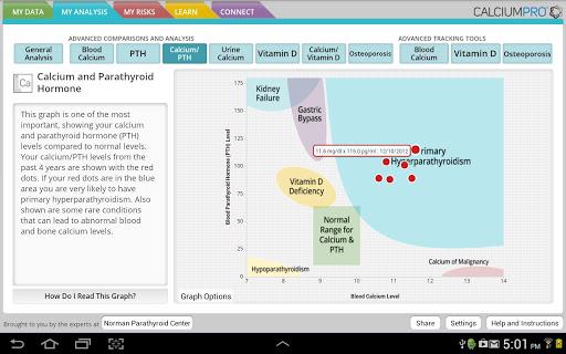 Calcium Pro - screenshot