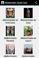Screenshot of Abdominales en Casa