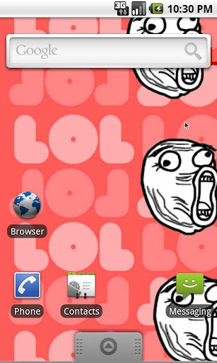 Rage Face live wallpaper LOL
