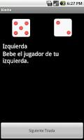 Screenshot of Kinito (drinking game)