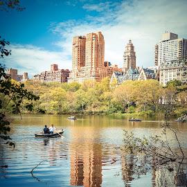 Central Park by Andrias Nugraha - City,  Street & Park  City Parks