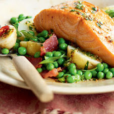 Salmon Salad With Potatoes And Tarragon Vinaigrette